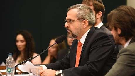 Abraham Weintraub em audiência na Câmara em dezembro, para explicar declarações polêmicas sobre plantações de maconha em universidades federais