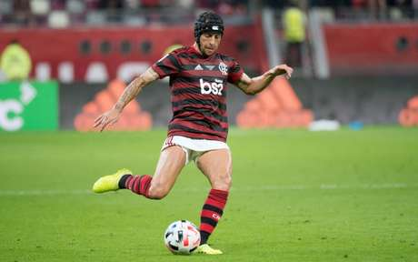 Banco BS2 expõe sua marca no uniforme do Flamengo desde abril de 2019 (Foto: Alexandre Vidal / Flamengo)