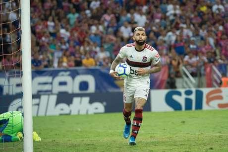 Gabriel Barbosa foi um dos grandes nomes do Flamengo em 2019 (Foto: Alexandre Vidal / Flamengo)