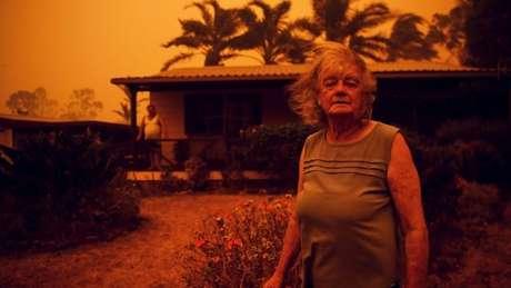 Região de New South Wales é uma das mais afetadas pelas chamas