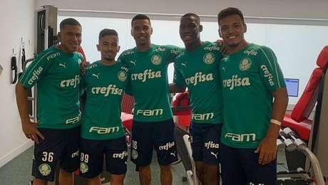 Recem Promovidas Revelacoes Da Base Do Palmeiras Torcem Por Oportunidades