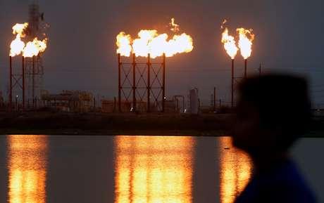 Campo de petróleo de Nahr Bin Umar, na região de Basra, Iraque  16/09/2019 REUTERS/Essam Al-Sudani