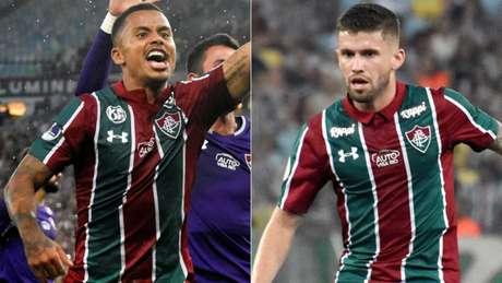 Allan e Caio Henrique brilharam bastante na temporada de 2019 (Fotos: Mailson Santana/Fluminense)