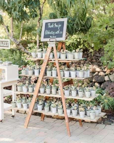 45. Invista em lembrancinhas para os seus convidados da festa de aniversário de casamento – Foto: Pinterest