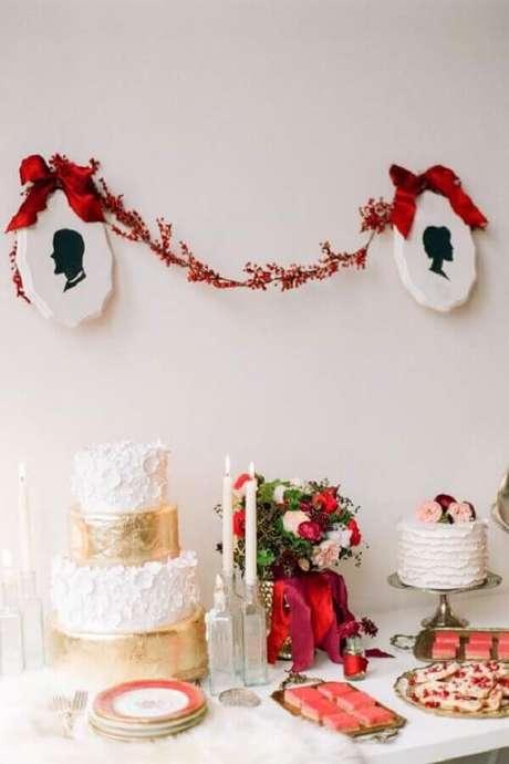 53. Ideia para aniversário de casamento simples – Foto: Baú das Dicas