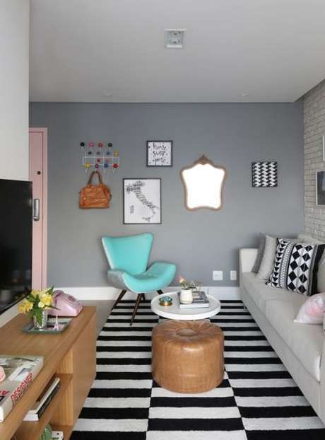 62. Móveis retrô para casa moderno – Por: Casa e Construção