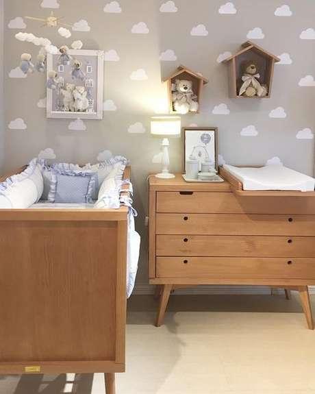 65. Móveis retrô para quarto de bebê – Foto: Casa e Construção