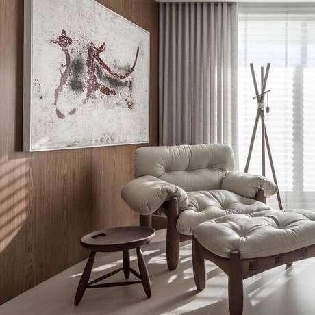 18. Poltrona mole para sala clássica – Foto: Instagram