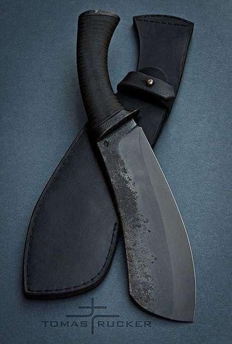 6. Os tipos de facas que você escolher podem ter diferentes designs. Foto: Tomas Rucker