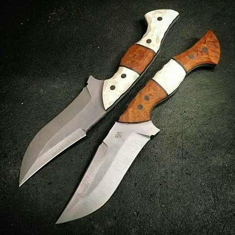 8. Sempre vale a pena se manter prevenido e ter os melhores tipos de facas. Foto: VK