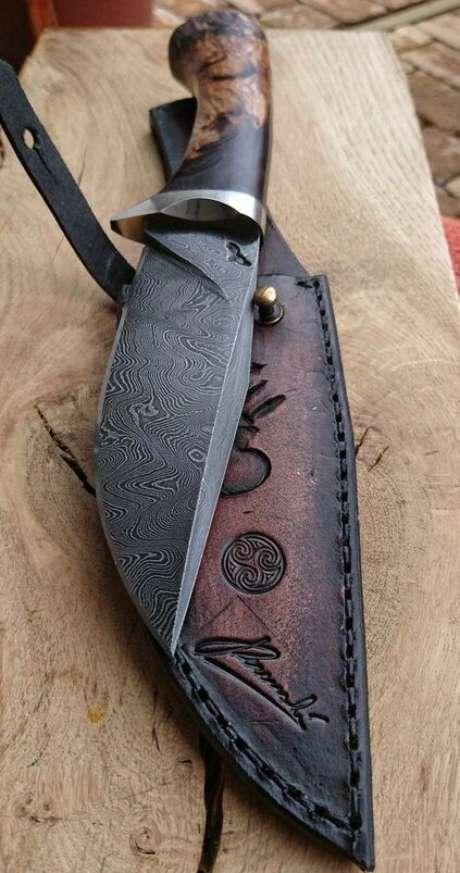 12. O cabo também é importante em diferentes tipos de facas. Foto: Welding Lifestyle