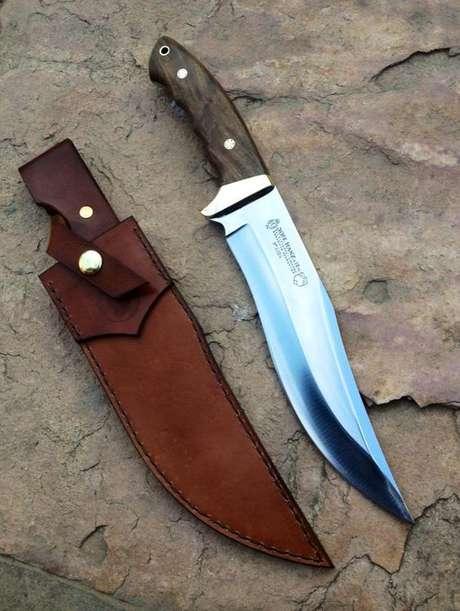 18. Muitos tipos de facas podem ser usadas para diferentes propósitos. Foto: Pinterest