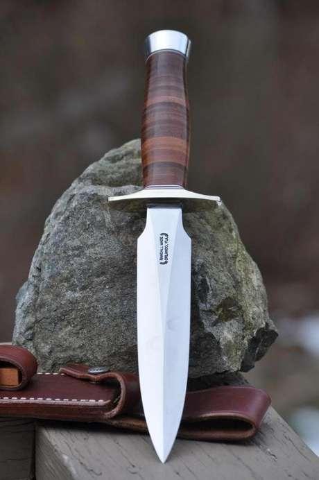 19. Sempre invista em tipos de facas que sejam duráveis. Foto: Pinterest