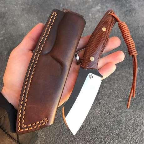38. Tipos de facas como esta são excelente presentes. Foto: Instagram