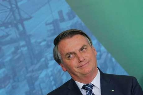 Presidente Jair Bolsonaro durante cerimônia no Palácio do Planalto 18/12/2019 REUTERS/Adriano Machado