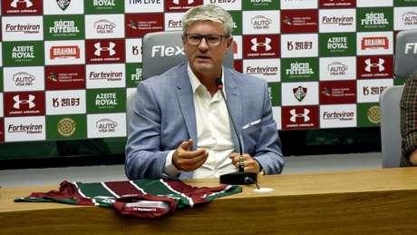 Odair Hellmann rejeitou rótulo de retranqueiro (Foto: MAILSON SANTANA/FLUMINENSE FC)