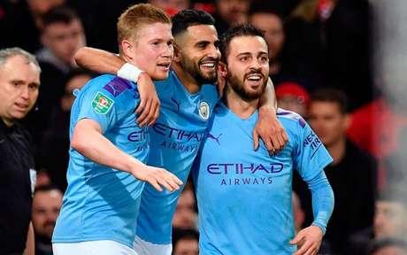 City vence United e garante boa vantagem na Copa da Liga Inglesa - (Foto: PAUL ELLIS / AFP)