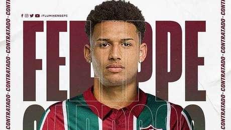 Felippe Cardoso é o novo reforço do Fluminense