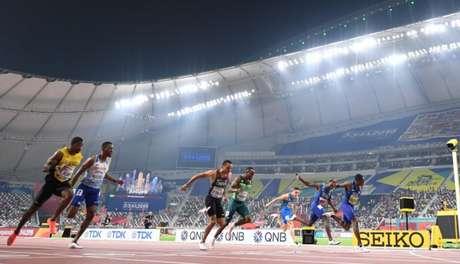 Último Mundial de Atletismo, disputado em Doha, no Catar, em 2019. (Crédito: Jewel Samad/AFP)