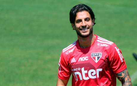 Hudson tem 31 anos e possui vínculo com o São Paulo até dezembro de 2021 (Guilherme Rodrigues/MyPhoto Press)