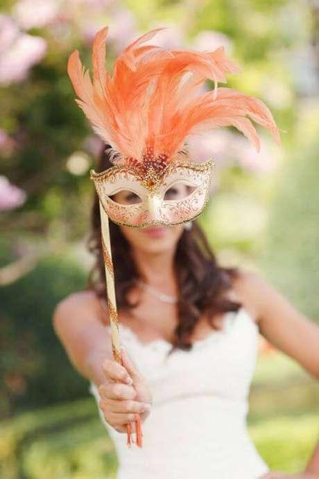 34. Máscara para festa de baile – Via: iCasei