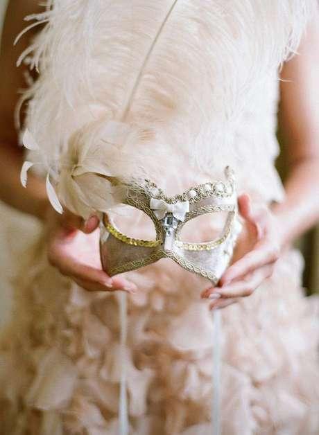 46. A máscara deve combinar com a sua personalidade – Via: Weddbook