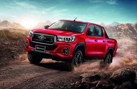 Toyota Hilux: desvalorização média de 9,5%, segundo o KBB.