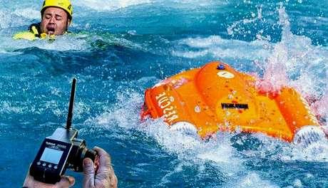 Esse salva-vidas pode ser controlado à distância