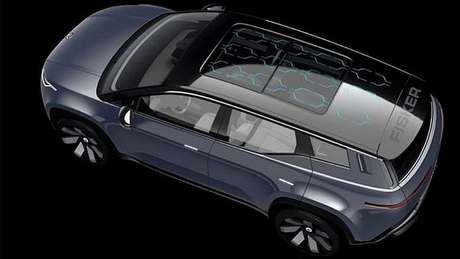 Fisker, um carro com teto de painel solar