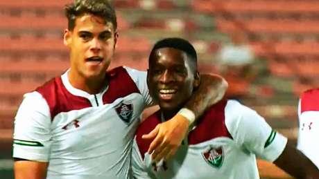 Luiz Henrique marcou o gol do Fluminense - Foto: Reprodução globoesporte.globo.com