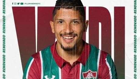 Yuri terminou 2019 como titular do time (Foto: Divulgação Fluminense)