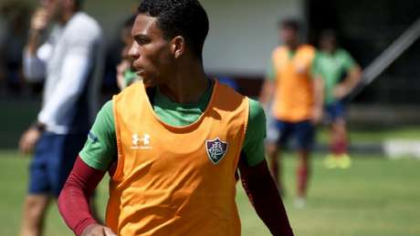 São Paulo terá preferência pela compra do jovem Wallace, do Fluminense (Foto: Mailson Santana/Fluminense)