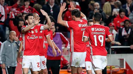 (Foto: Reprodução/ Twitter Benfica)