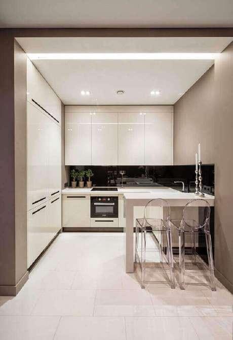 6. Luminária para cozinha de LED pequena