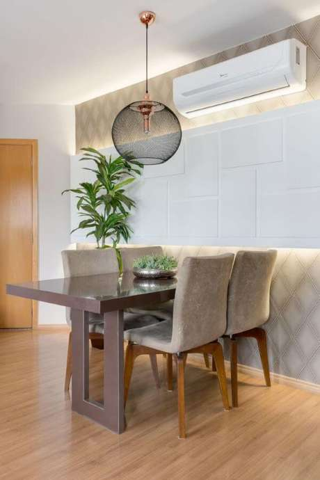 47. Enfeites de mesa de jantar sofisticado – Projeto: Claudia Comparin