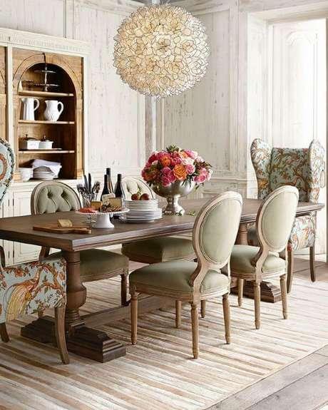 64. Enfeites de mesa clássica e sofisticada – Via: Casa de Valentina