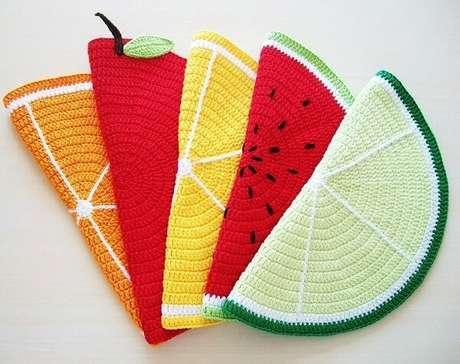 8. Modelo de kit descanso de panela frutas. Fonte: Elo7