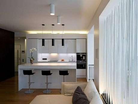38. Luminária para cozinha com pendente
