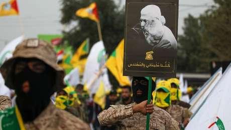 O chefe da milícia iraquiana Abu Mahdi-al-Muhandis morreu no mesmo ataque dos EUA que matou Qasem Soleimani