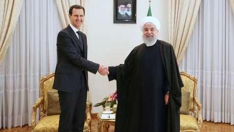 Para muitos, o apoio do Irã tem sido vital para a permanência de Bashar al-Assad na presidência da Síria