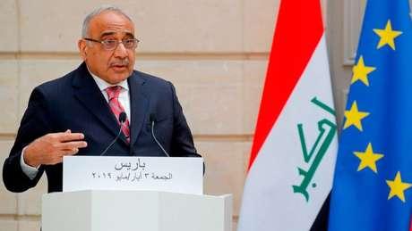 O premiê do Iraque, Adel Abdul Mahdi, condenou o ataque dos EUA a Soleimani