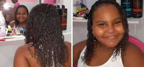 Anna Carolina de Souza Neves, de 8 anos, foi atingida por uma bala perdida dentro de casa, em Belford Roxo, Baixada Fluminense.