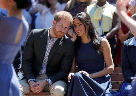 Príncipe Harry e a mulher, Meghan, durante visita a Sydney 19/20/2018 REUTERS/Phil Noble/Pool
