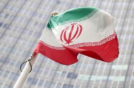 Bandeira do Irã em Viena 10/07/2019 REUTERS/Lisi Niesner