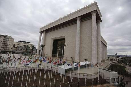 Templo de Salomão, em São Paulo, é uma das principais igrejas do país 31/07/2014 REUTERS/Nacho Doce