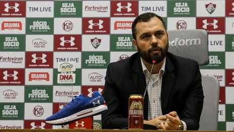Presidente do Fluminense não gostou da conduta adotada em negociação (Foto: Lucas Merçon/Fluminense)