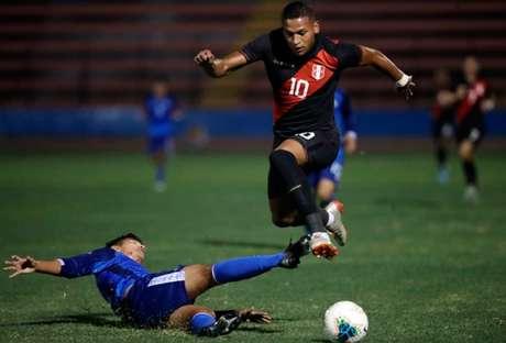 Fernando Pacheco é uma das promessas da seleção peruana (Foto: Divulgação)