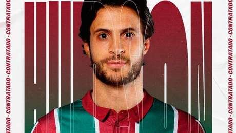 Novo reforço, Hudson já pode atuar pelo Fluminense (Foto: Paulo Fischer / WPP)