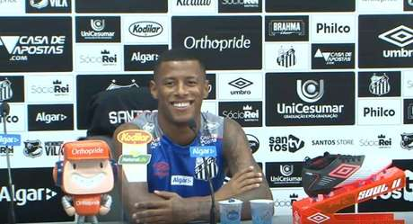 Arthur Gomes espera nova chance no Santos (Foto: Reprodução)