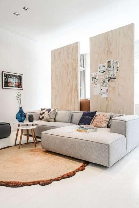 23. Para escolher o melhor sofá é preciso pensar em quais são suas necessidades – Foto: Pinterest